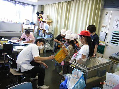 中条小病院見学2008-1