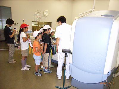 中条小病院見学2008-2